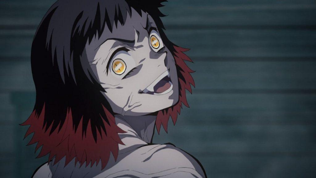 Demon Slayer Kimetsu No Yaiba Episode 9 Susamaru Not Giving Up