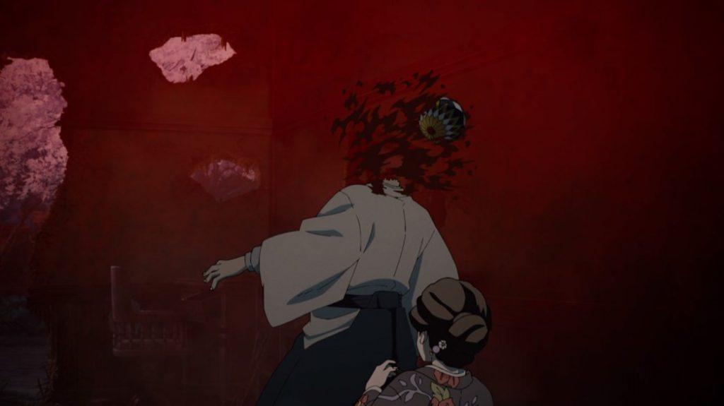 Demon Slayer Kimetsu No Yaiba Episode 9 Yushiro Taking One For The Team