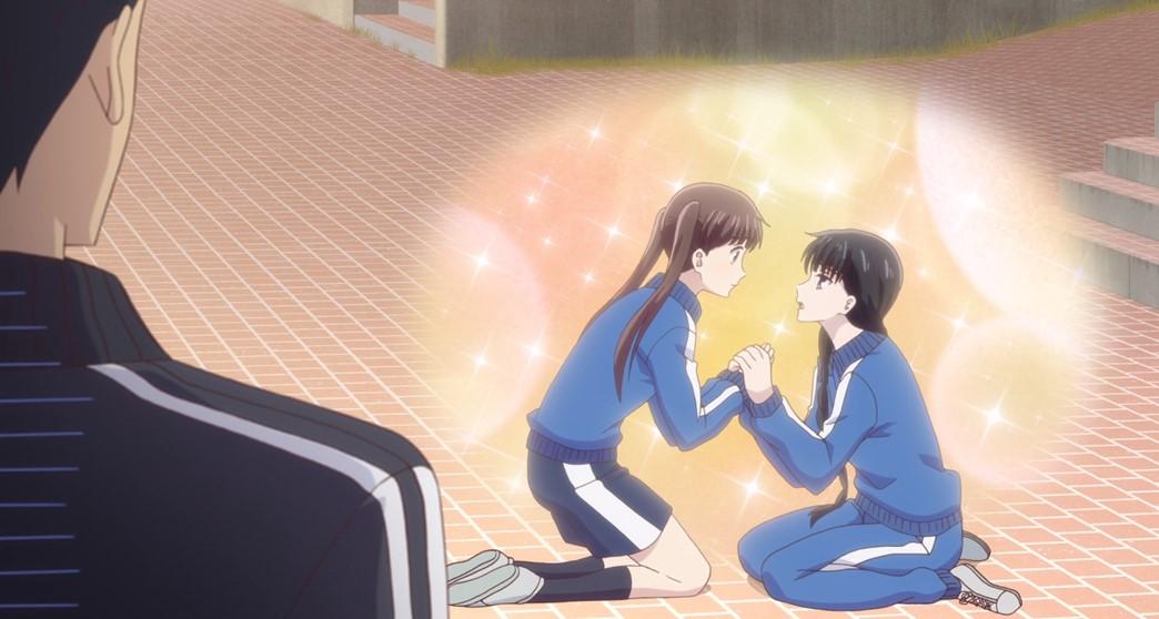 Fruits Basket Episode 9 Saki Takes A Tumble