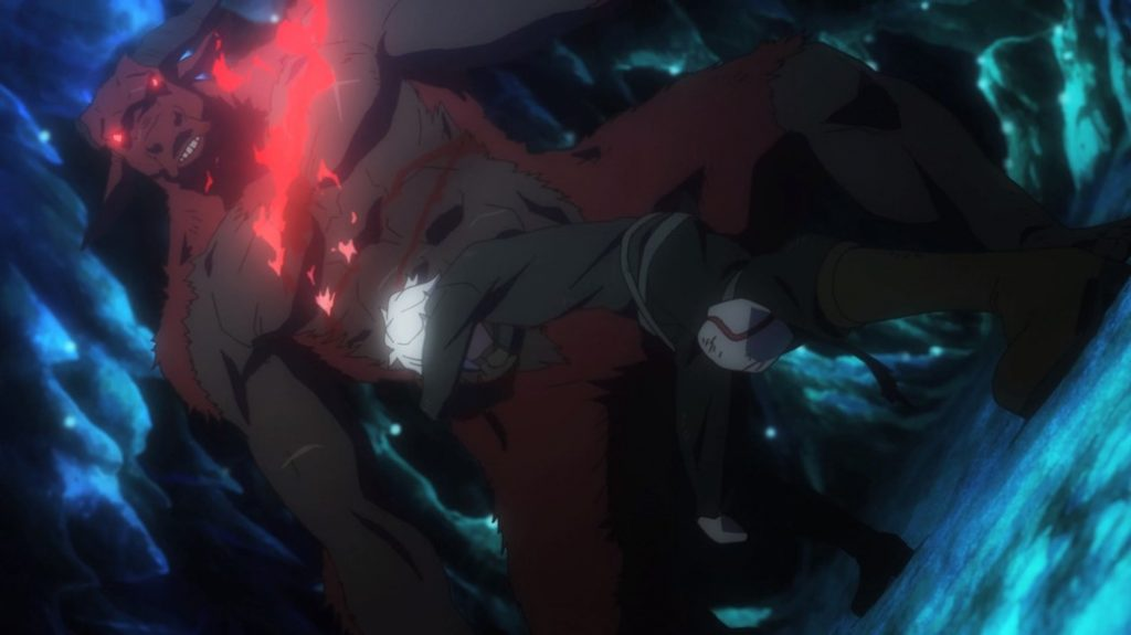 Is It Wrong To Try To Pick Up Girls In A Dungeon Episode 0 Bell Versus Enhanced Minotaur