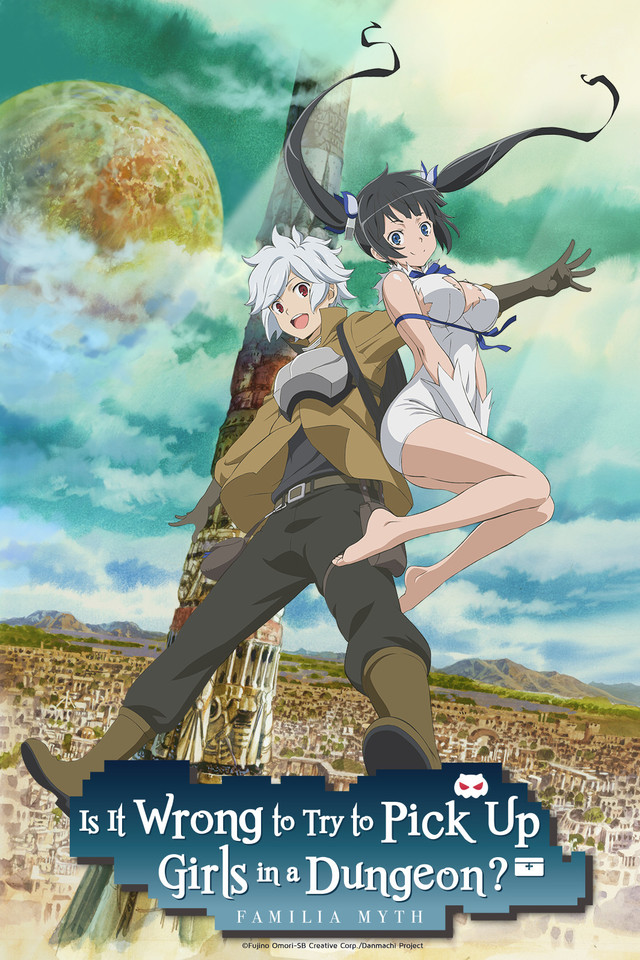 Is It Wrong To Try To Pick Up Girls In A Dungeon Title