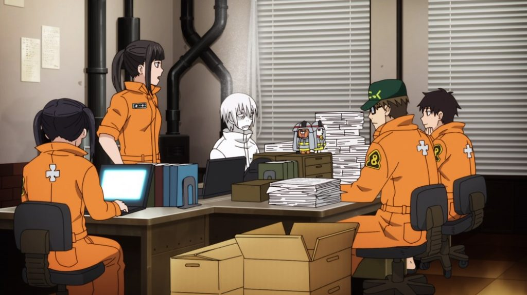 Fire Force Episode 10 Company 8 Searching for Leads
