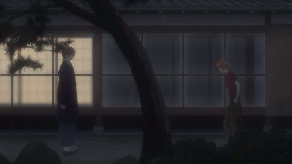 Fruits Basket Episode 24 Shisho talks with Kyo