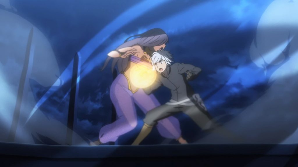 Is It Wrong To Try To Pick Up Girls In A Dungeon II Episode 10 Bell Firebolts Aisha