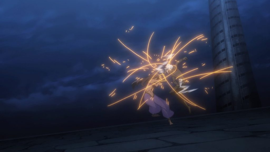 Is It Wrong To Try To Pick Up Girls In A Dungeon II Episode 10 Bell and Aisha battle