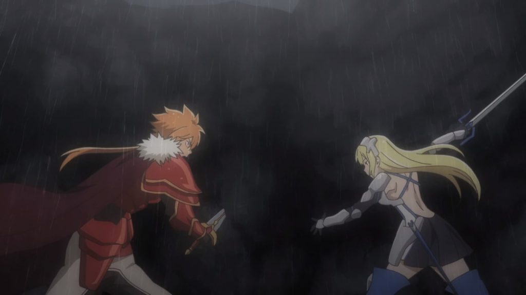 Is It Wrong To Try To Pick Up Girls In A Dungeon II Episode 11 Ais versus Ares