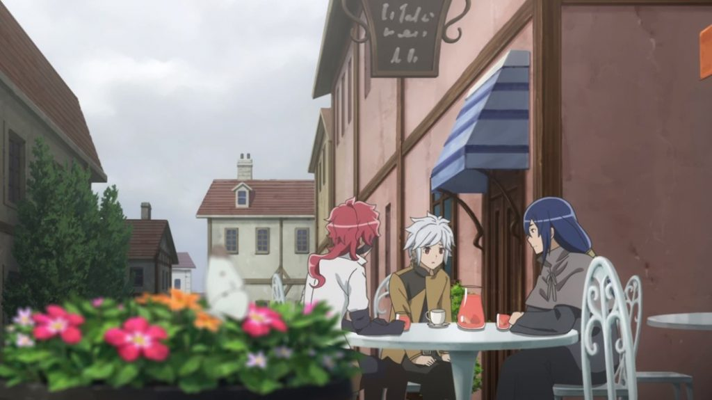 Is It Wrong To Try To Pick Up Girls In A Dungeon II Episode 11 Bell has Tea with Miach and Hephaistios