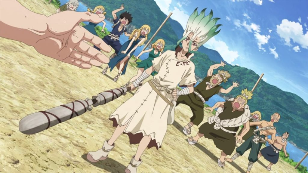 Dr Stone Episode 15 Senku Wins the Grand Bout