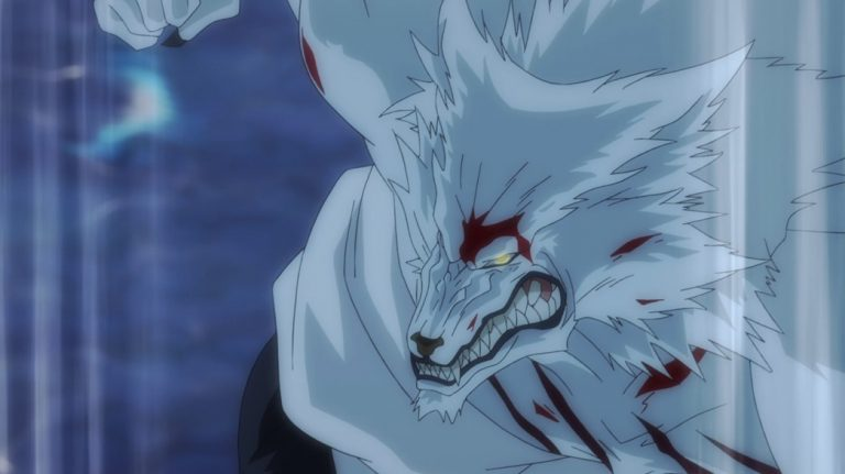To the Abandoned Sacred Beasts Episode 12 Hank in Werewolf Form
