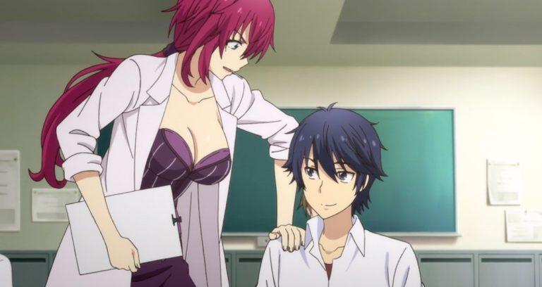 YU-NO A Girl Who Chants Love at the Bound of This World Episode 4 Eriko Takeda And Takuya Arima