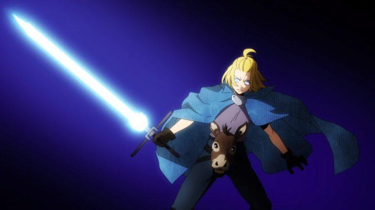 Fire Force Episode 16 Arthur feeling Knightly
