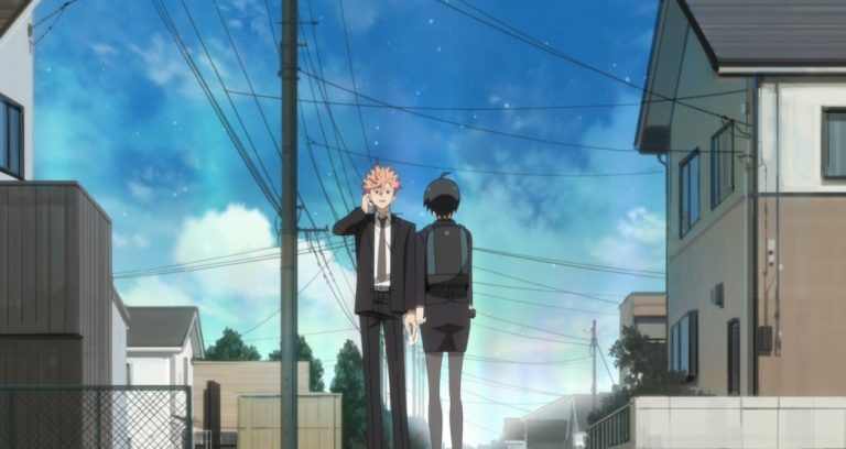 ID Invaded Episode 10 The ID Well starts to collapse as Narihisago says farewell to his family