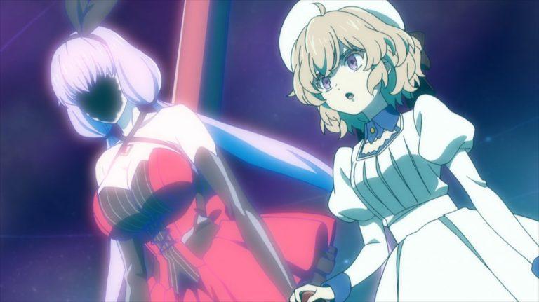 InSpectre Episode 10 Steel Lady Nanase and Kotoko