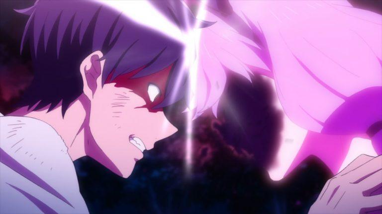 InSpectre Episode 11 Kurou headbutts Steel Lady Nanase