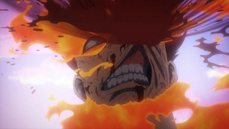 My Hero Academia 4 Episode 88 Endeavor takes a hit