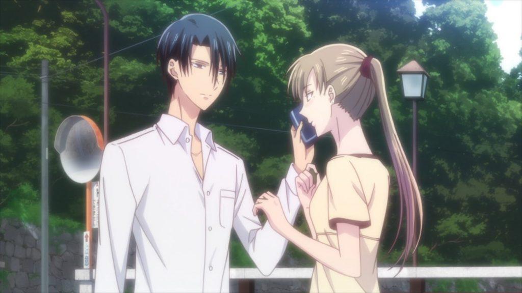 Fruits Basket Episode 37 Hatori and Mayuko