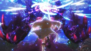 Princess Connect ReDive Episode 12 Pecorine runs into battle against the Ultimate Shadow Warrior