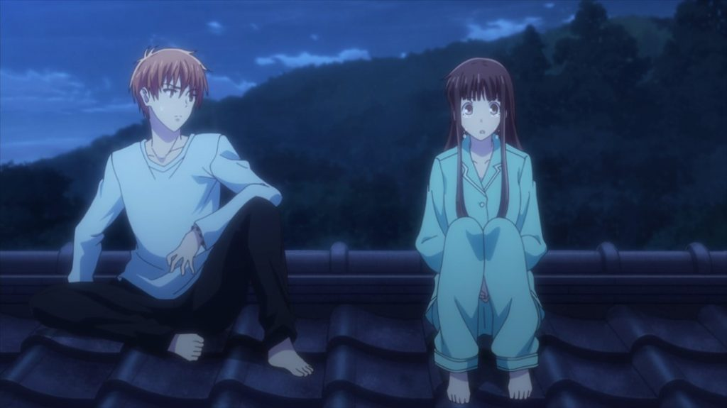 Fruits Basket Episode 41 Kyo and Tohru