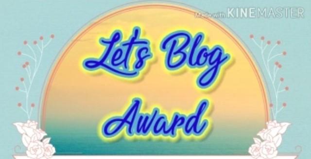 Let's Blog Award