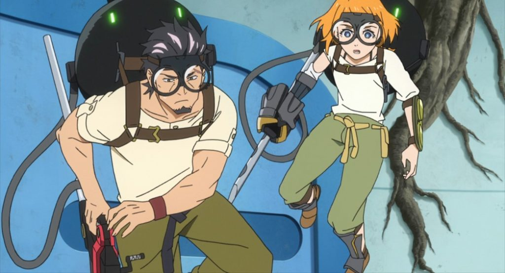 Decadence Episode 9 Kaburagi and Natsume