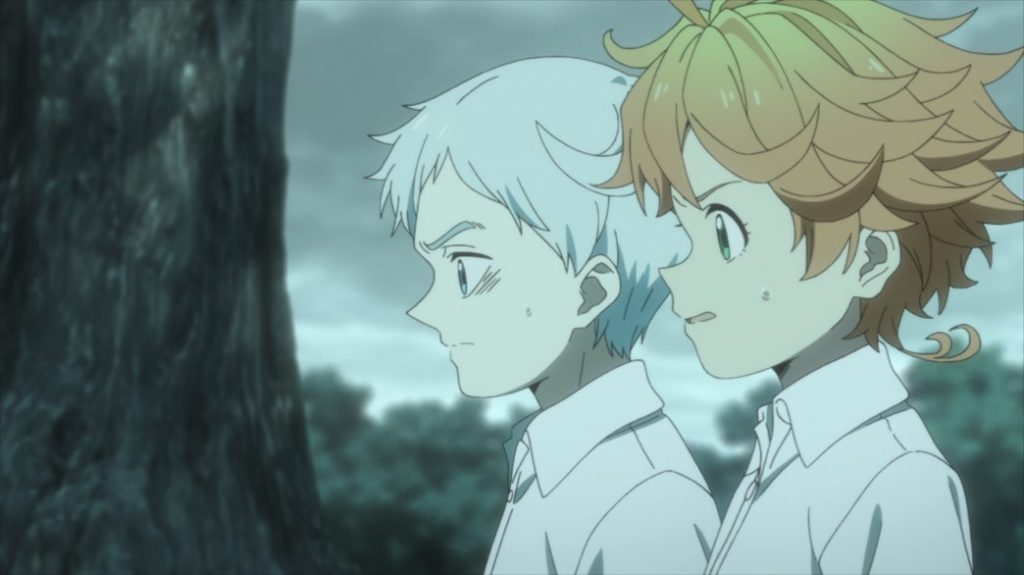 The Promised Neverland Episode 2 Emma and Norman
