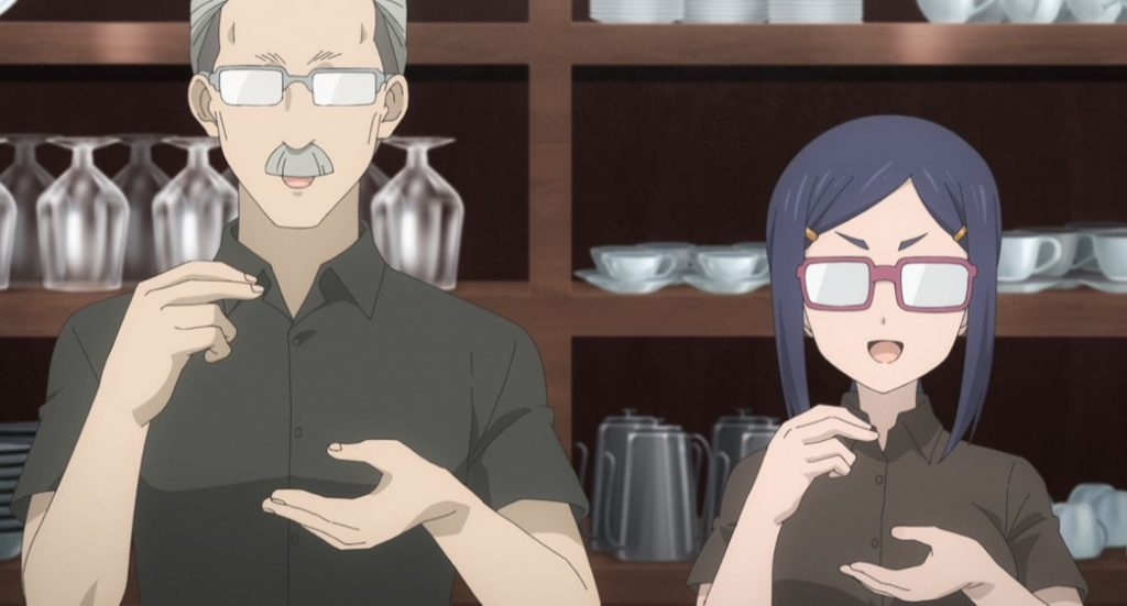 Uzaki Chan Wants to Hang Out Cafe Owner and Ami