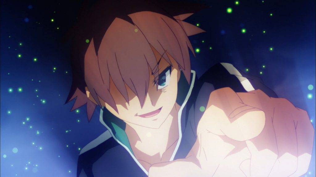 KonoSuba Episode 1 Kazuma