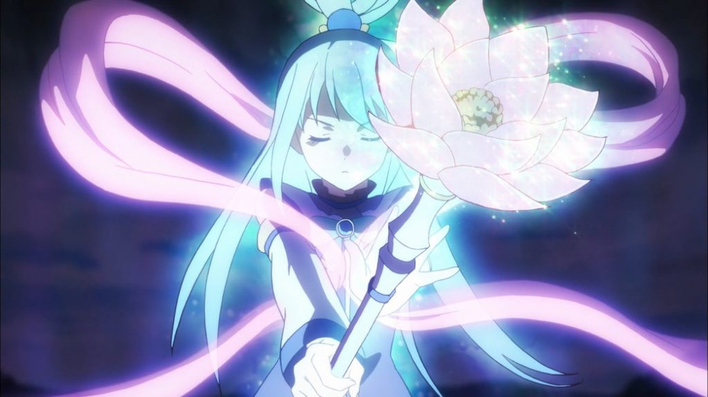 KonoSuba Episode 6 Aqua purifies the Dullahan