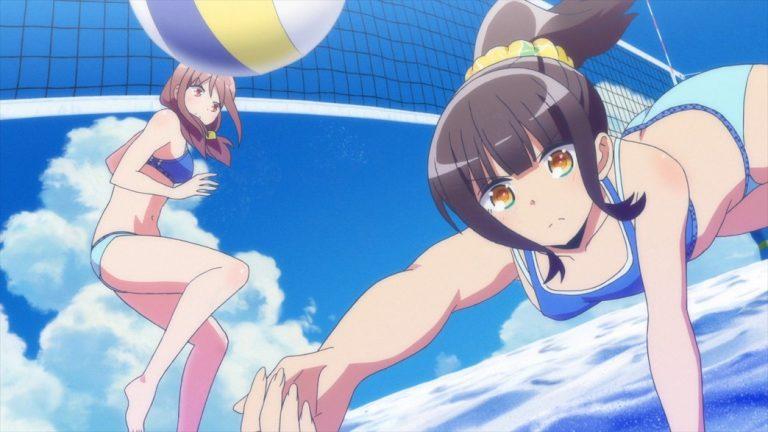 Harukana Receive Episode 9 Kanata diving for a return