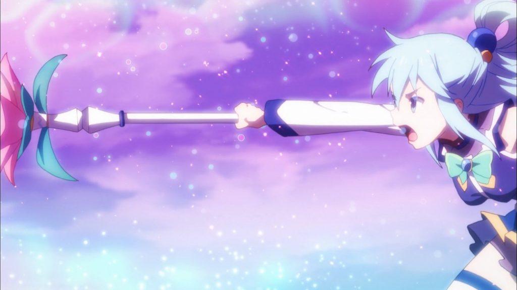 KonoSuba Episode 10 Aqua Spell Break