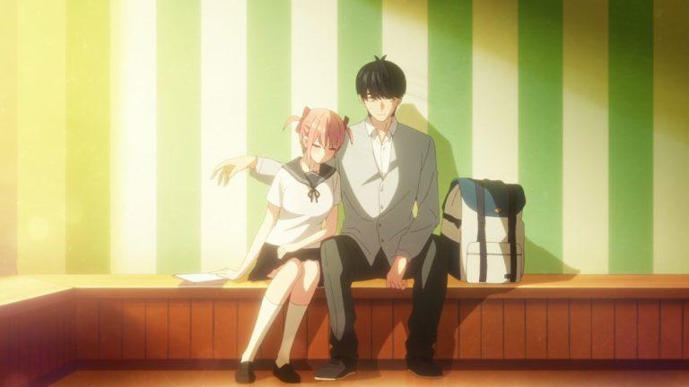 The Quintessential Quintuplets Episode 17 Futaro and Ichika