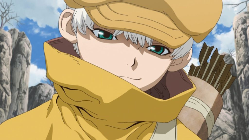 Dr Stone Stone Wars Episode 7 Ukyo