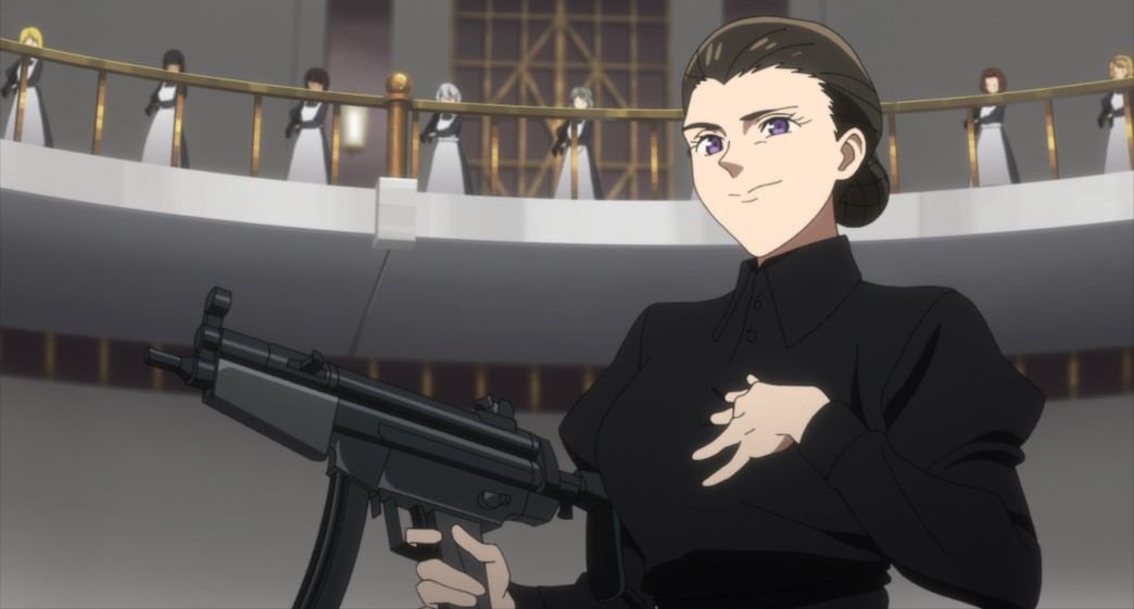 The Promised Neverland Season Two Episode 10 Isabella shows her intentions