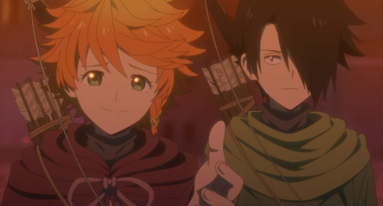 The Promised Neverland Season Two Episode 9 Emma and Ray convince Norman