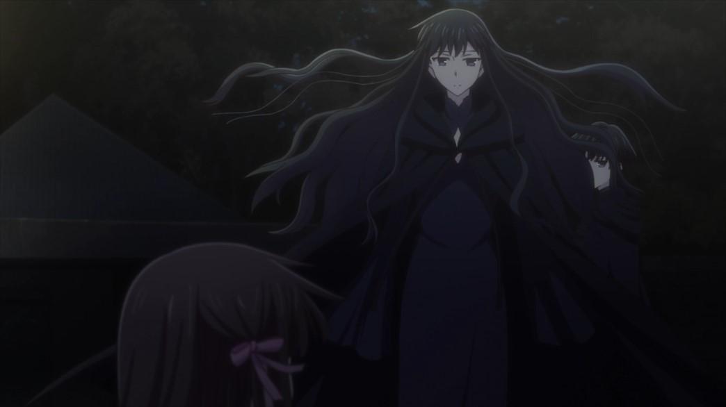 Fruits Basket Episode 51 Saki and Megumi come to Tohru's aid