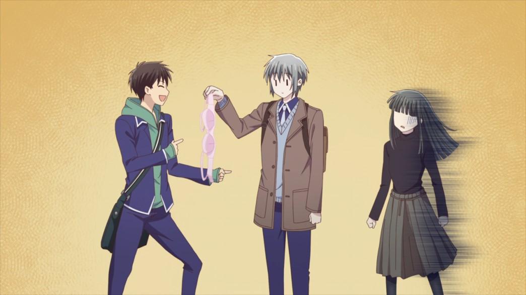 Fruits Basket Episode 53 Kakeru sets Yuki up Machi distraught