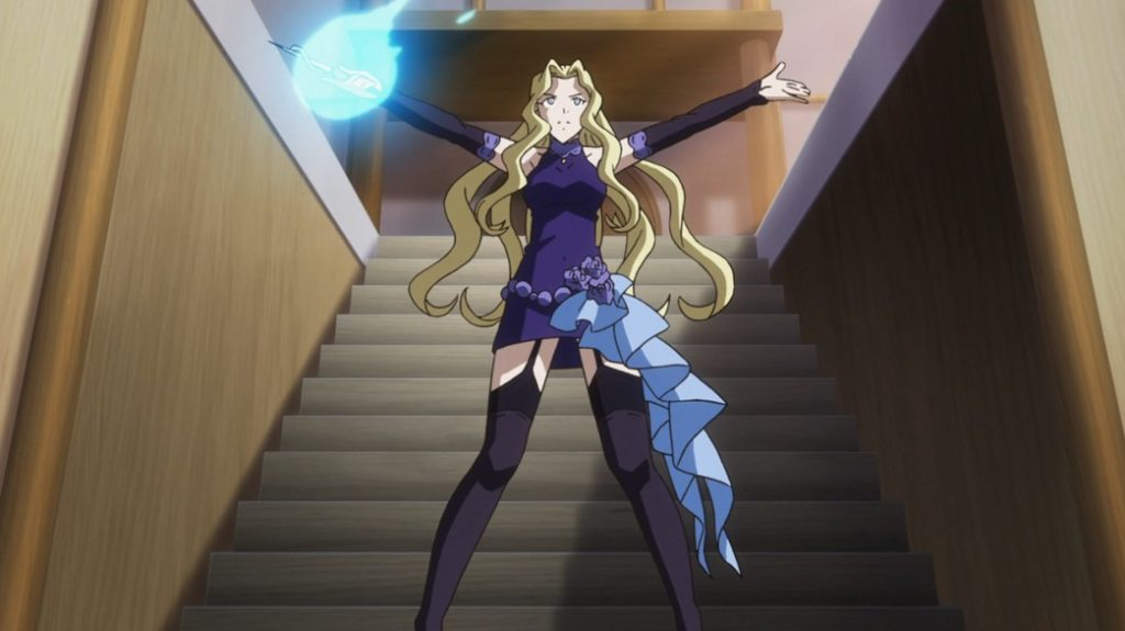 Record of Grancrest War Episode 20 Laura Hardly