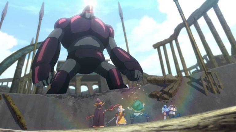 KonoSuba Episode 22 The Golem