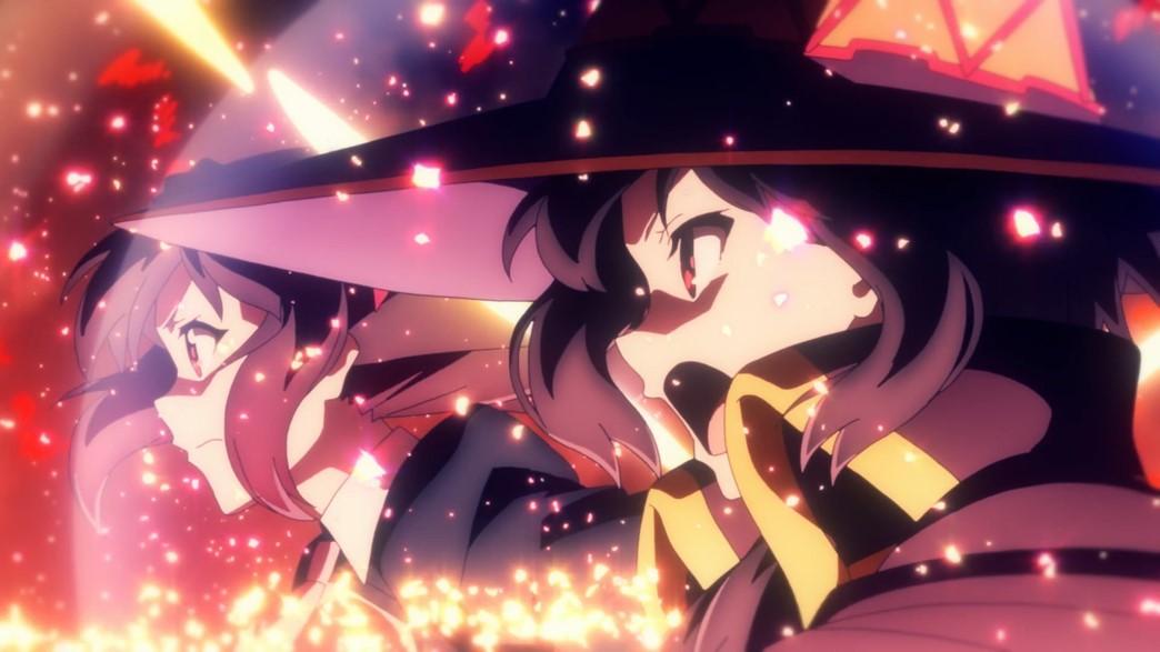 KonoSuba Movie Legend of Crimson Yun-yun and Megumin team up