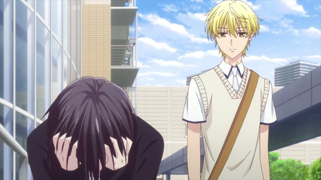 Fruits Basket Episode 59 Momiji tells Akito off