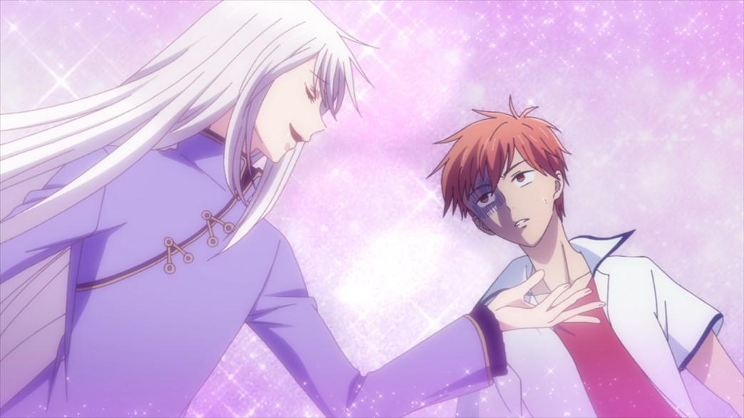 Fruits Basket Episode 62 Ayame and Kyo