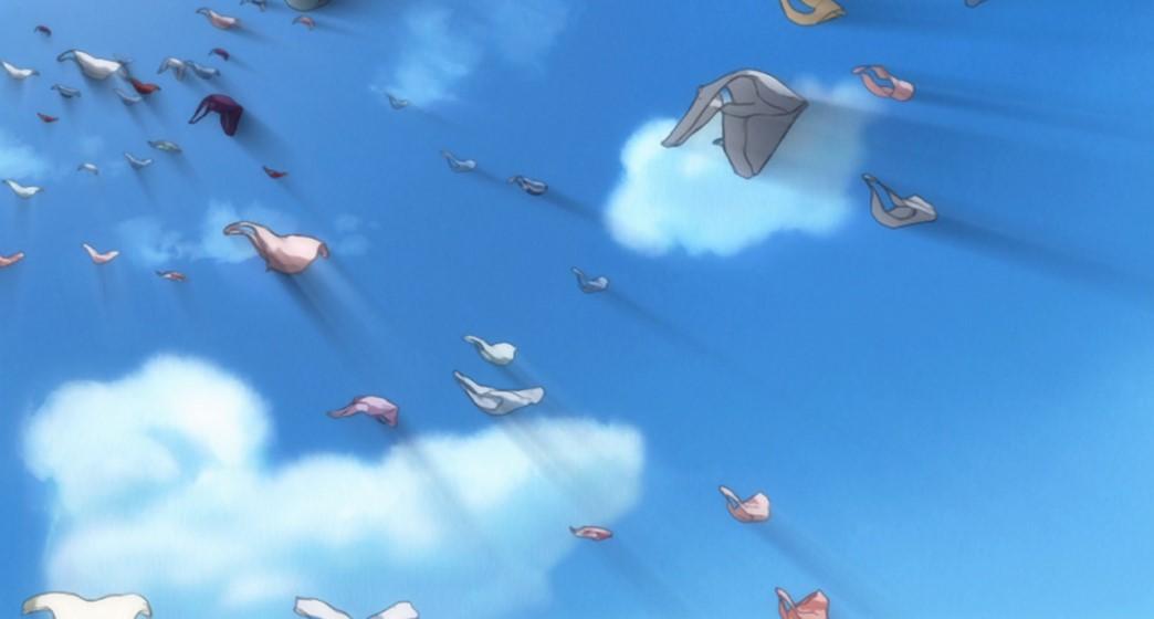 Heaven's Lost Property Episode 2 Flock of Panties