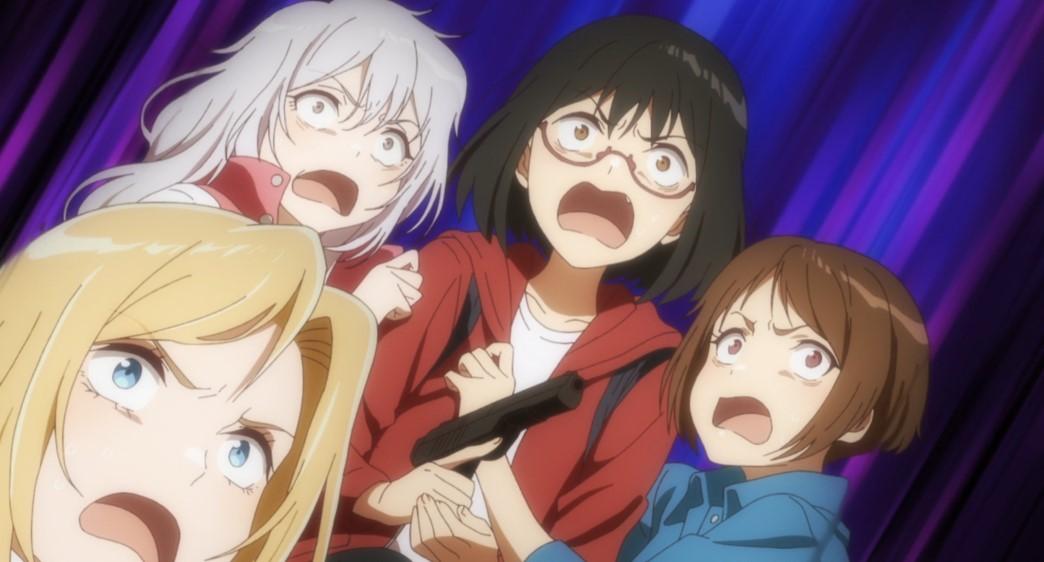 Otherside Picnic Episode 10 Sorao Toriko Kozakura and Akari Scared
