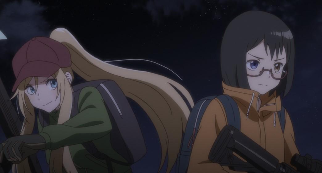 Otherside Picnic Episode 11 Sorao Kamikoshi and Toriko Nishina searching for the Americans