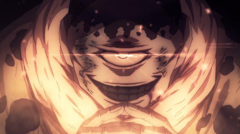 Jujutsu Kaisen Episode 7 Jogo activates his innate domain