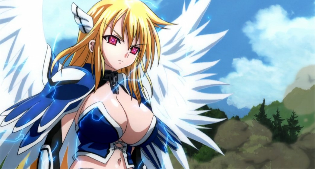 Heaven's Lost Property Episode 16 Astraea finds Tomoki
