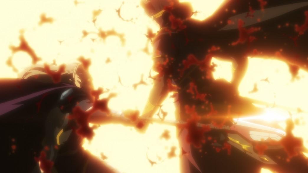 How Not To Summon A Demon Lord 2 Episode 3 Batutta cuts Diablo's arm