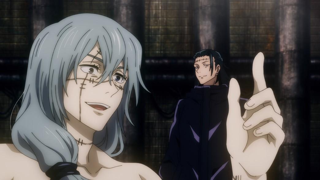 Jujutsu Kaisen Episode 11 Mahito and Getou