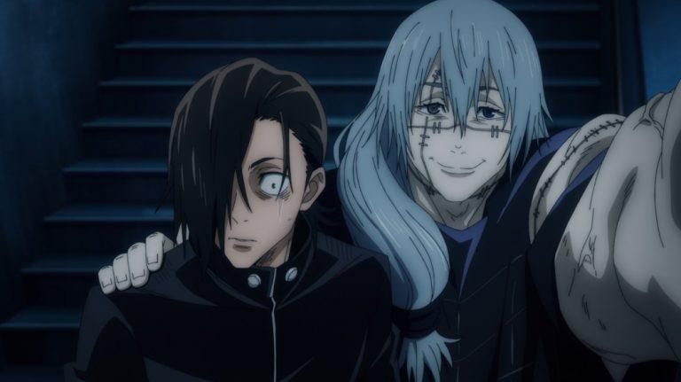 Jujutsu Kaisen Episode 12 Yoshino realises that Mahito is evil