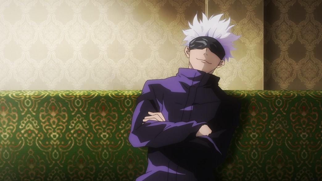 Jujutsu Kaisen Episode 8 Gojou chill